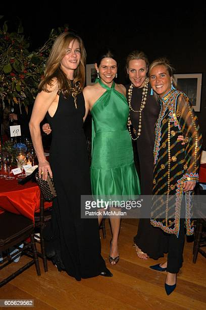 Mia Matheson Courtney Moss Anne Baker and Kathryn Bohannon attend The Museum of The City of New York The Directors Council 20th Annual Winter Ball at...