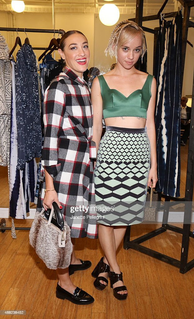 Mia Moretti and Margot attend Studio 189 Presentation at Spring 2016 New York Fashion Week:The Shows on September 14, 2015 in New York City.