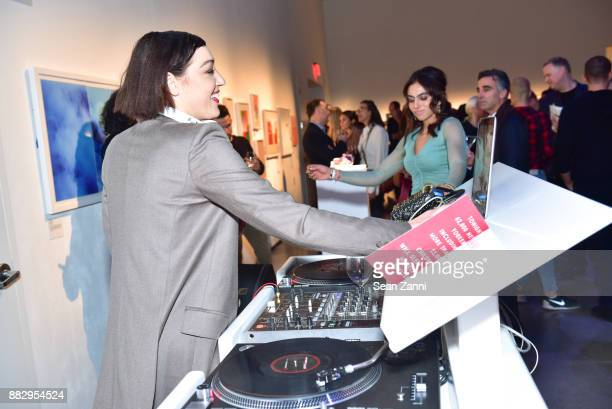 Mia Moretti and Shari Loeffler attend the 2017 ARTWALK NY Benefiting Coalition for the Homeless at Spring Studios on November 29 2017 in New York City