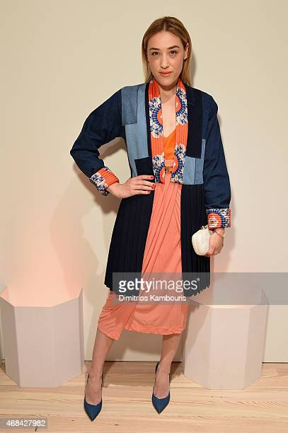 Mia Moretti attends Audi's Celebration of partnership with the Whitney Museum on April 2 2015 in New York City