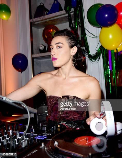 Mia Moretti attends Giovanna Battaglia Engelbert Giography Book Launch at Bergdorf Goodman on September 8 2017 in New York City