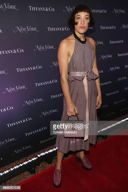 Mia Moretti attends New York Magazine's 50th Anniversary Celebration at Katz's Delicatessen on October 24 2017 in New York City