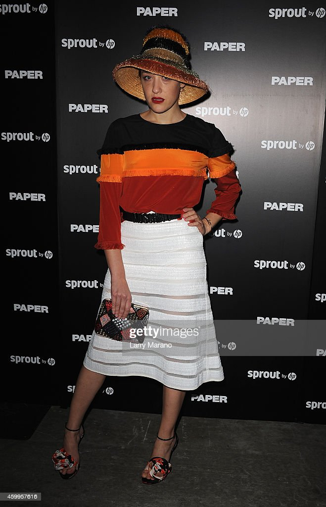 Mia Moretti attends Paper Magazine, Sprout By HP & DKNY Break The Internet Issue Release at 1111 Lincoln Road on December 4, 2014 in Miami, Florida.