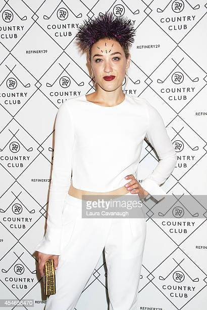 Mia Moretti attends Refinery29 Country Club Launch Event at 82 Mercer on September 4 2014 in New York City