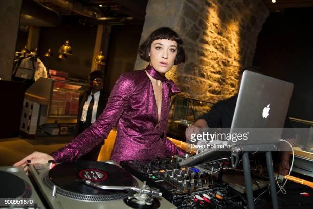 Mia Moretti attends SUGARCANE raw bar grill Grand Opening in Dumbo at SUGARCANE raw bar grill on November 13 2017 in Brooklyn NY