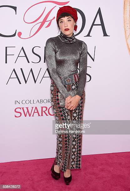Mia Moretti attends the 2016 CFDA Fashion Awards at the Hammerstein Ballroom on June 6 2016 in New York City