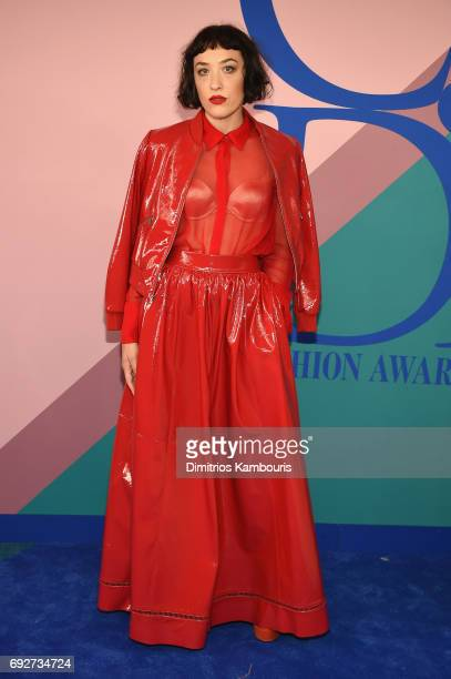 Mia Moretti attends the 2017 CFDA Fashion Awards at Hammerstein Ballroom on June 5 2017 in New York City