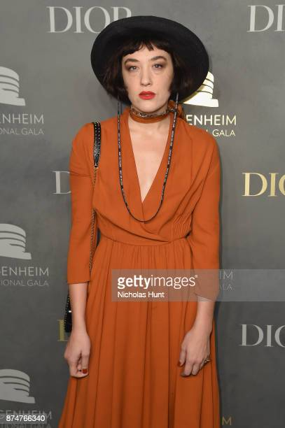 Mia Moretti attends the 2017 Guggenheim International Gala PreParty made possible by Dior on November 15 2017 in New York City