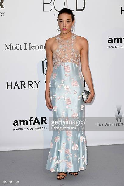 Mia Moretti attends the amfAR's 23rd Cinema Against AIDS Gala at Hotel du CapEdenRoc on May 19 2016 in Cap d'Antibes France