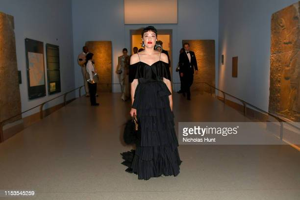 Mia Moretti attends the CFDA Fashion Awards at the Brooklyn Museum of Art on June 03 2019 in New York City