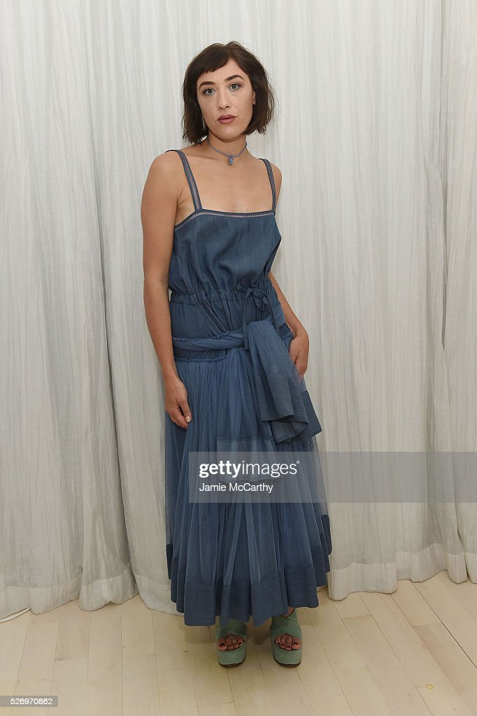 DJ Mia Moretti attends the COVERGIRL Katy Kat Matte launch at The Waterfall Mansion on May 1, 2016 in New York City.