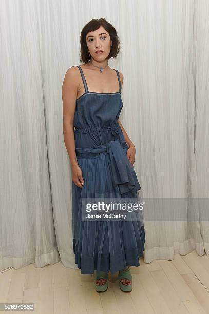 Mia Moretti attends the COVERGIRL Katy Kat Matte launch at The Waterfall Mansion on May 1 2016 in New York City
