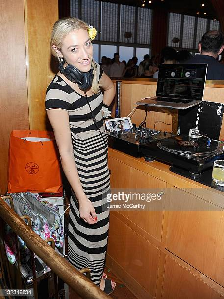 DJ Mia Moretti attends the GUESS Seductive Fragrance launch at The Top of The Standard on June 8 2011 in New York City