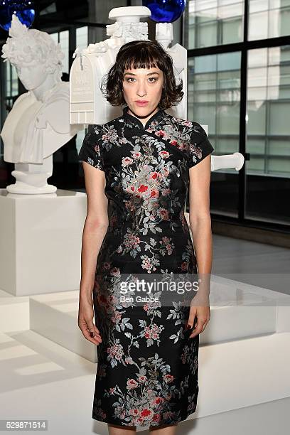 Mia Moretti attends the Jeff Koons x Google launch on May 09 2016 in New York New York