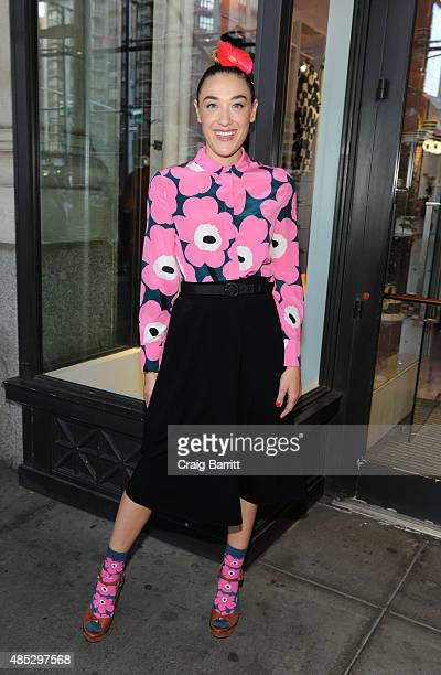 Mia Moretti attends the Marimekko evening of Fall Fashion hosted by DJ Mia Moretti on August 26 2015 in New York City