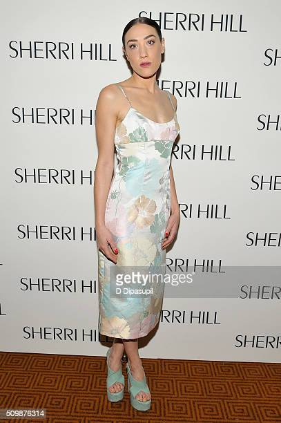 Mia Moretti attends the Sherri Hill Fall 2016 fashion show during New York Fashion Week The Shows on February 12 2016 in New York City