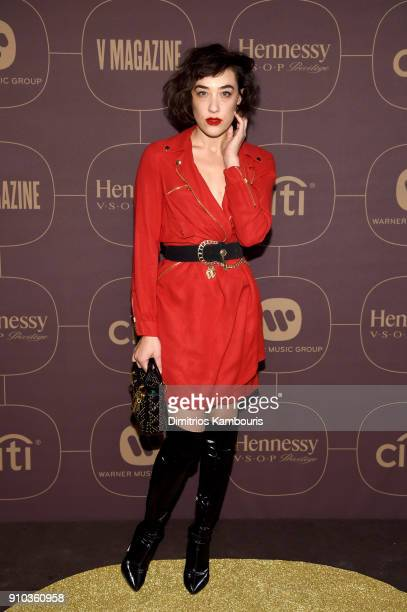 Mia Moretti attends the Warner Music Group PreGrammy Party in association with V Magazine on January 25 2018 in New York City
