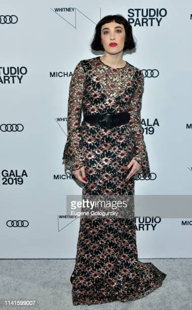 Mia Moretti attends the Whitney Museum Of American Art Gala Studio Party at The Whitney Museum of American Art on April 09 2019 in New York City
