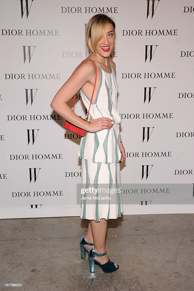 Mia Moretti attends the World Premiere of Bruce Weber's Film 'CAN I MAKE THE MUSIC FLY' hosted by DIOR Homme's Kris Van Assche, Bruce Weber, & W Magazine's Stefano Tonchi in Celebration of The New Dior Homme Miami Boutique at The Moore Building on December 5, 2012 in Miami, Florida.