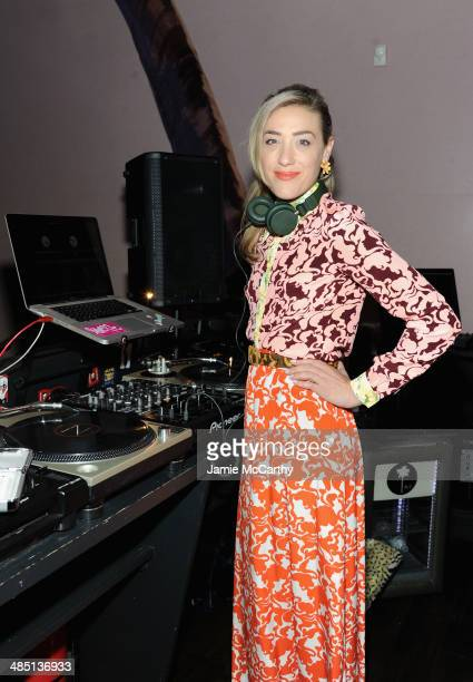 Mia Moretti spins at the Global Poverty Project and LDV Hospitality special event kicking off the 2014 Live Below the Line campaign to inspire action...