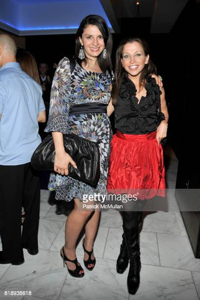 Mia Morgan and Wendy Diamond attend PATTI SMITH Live in Concert A Benefit for The American Folk Art Museum at Espace on May 15 2010 in New York City