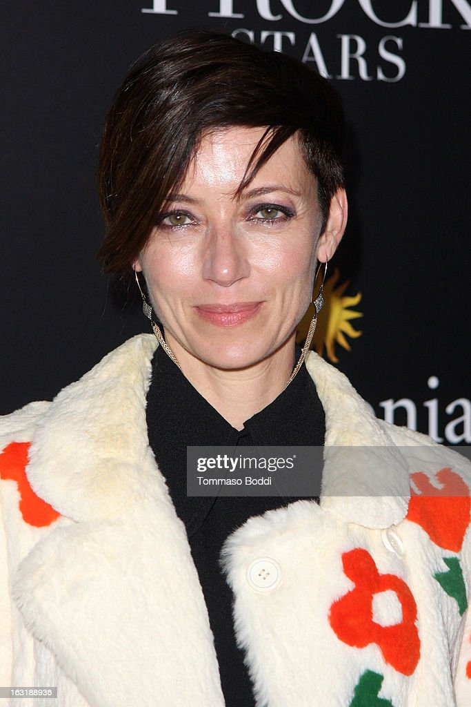 Mia Sara attends the 'L.A.Frock Stars' Los Angeles screening and party held at the LACMA on March 5, 2013 in Los Angeles, California.