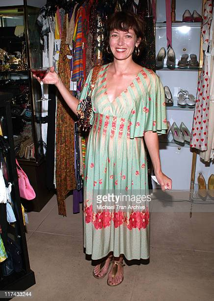 Mia Sara during The Way We Wore Presents the 50Fifty Boutique Sale July 19 2006 at The Way We Wore in Los Angeles California United States