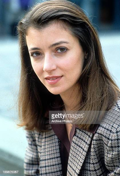 Mia Sara in a scene from the film 'Timecop' 1994