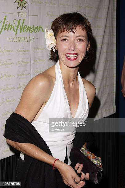 Mia Sara poses at the 25th Anniversary of The Muppet Show at The Palace in Hollywood California