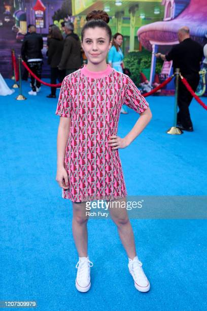 """Mia Sinclair Jenness attends the Premiere of Disney and Pixar's """"Onward"""" on February 18, 2020 in Hollywood, California."""