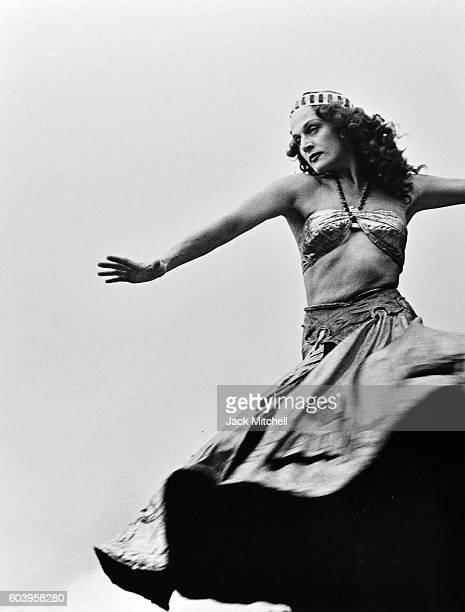 Mia Slavenska performing Salome at Jacob's Pillow, 1950.
