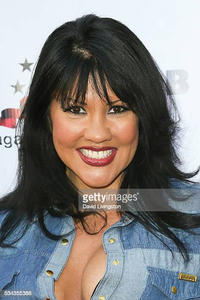 Mia St John arrives at the 7th Annual Big Fighters Big Cause Charity Boxing Night Benefiting The Sugar Ray Leonard Foundation at The Ray Dolby...