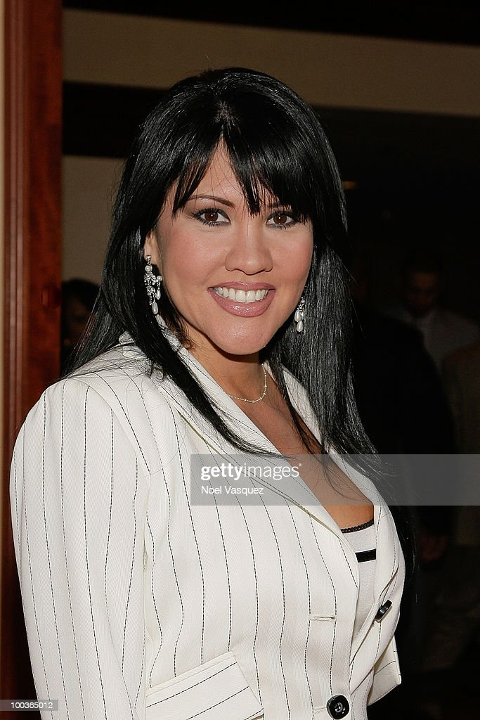 Mia St. John attends the 25th anniversary of Cedars-Sinai Sports Spectacular Hyatt Regency Century Plaza on May 23, 2010 in Century City, California.