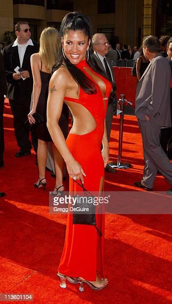 Mia St John during 2003 ESPY Awards Arrivals at Kodak Theatre in Hollywood California United States