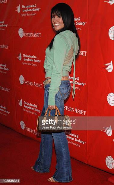 Mia St John during 2nd Annual Celebrity Rock'N Bowl Arrivals at Lucky strike Lanes in Hollywood California United States