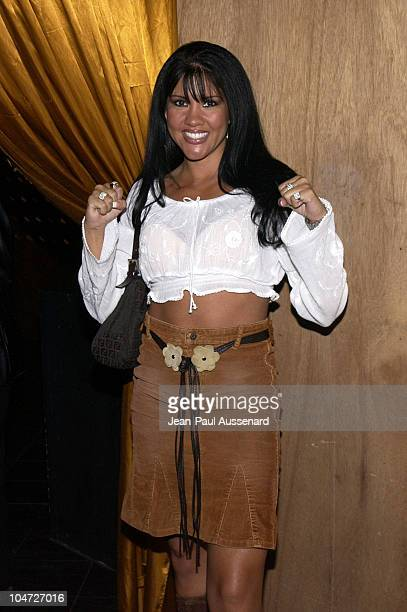 Mia St John during 4th Annual Celebrity Fashion Show Fashion LA Style to benefit Love Our Children USA at Club Soho in Los Angeles California United...