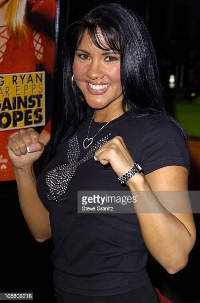 Mia St John during Against The Ropes Premiere at Graumann's Chinese Theatre in Los Angeles California United States