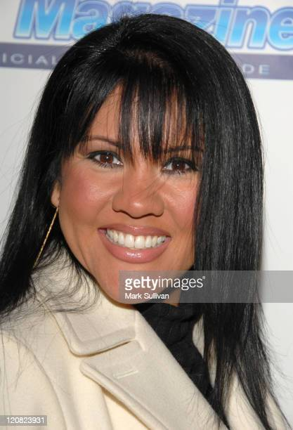 Mia St John during American Idol Season 5 Launch Party in Los Angeles California United States