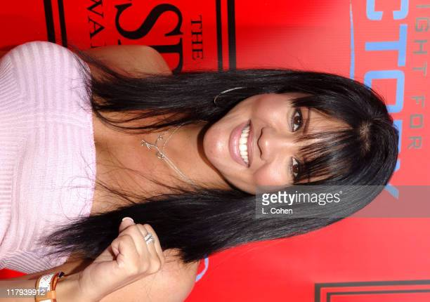 Mia St John during Andy Roddick Host 13th Annual ESPY Awards PreParty Inside at Playboy Mansion in Beverly Hills California United States