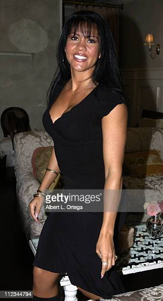 Mia St John during The 17th Annual Imagen Awards Nominations at Madre's Restaurant in Pasadena California United States