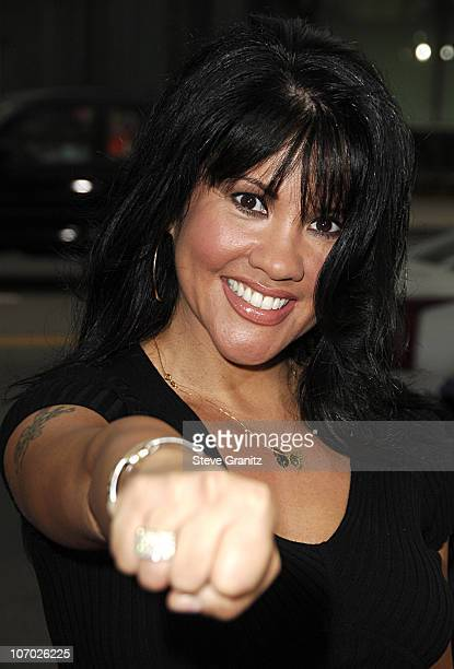 Mia St John during The Black Dahlia Los Angeles Premiere Arrivals at Academy of Motion Picture Arts and Sciences in Beverly Hills California United...