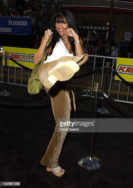 Mia St John during The Tuxedo Premiere Los Angeles at Mann's Chinese Theatre in Hollywood California United States