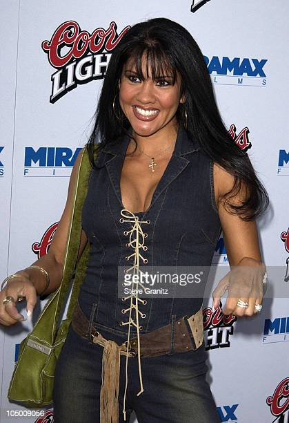 Mia St John during Undisputed Premiere at Mann Festival in Westwood California United States