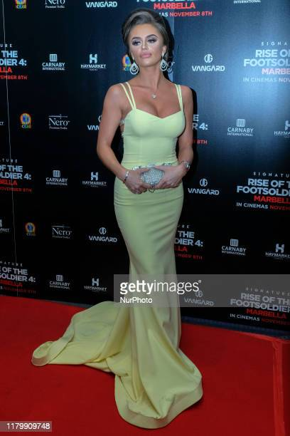 Mia Sully Attends the premiere of Rise of the Footsoldier 4 Marbella out in cinemas amp digital HD from Friday 8th November at the Troxy London UK 1...