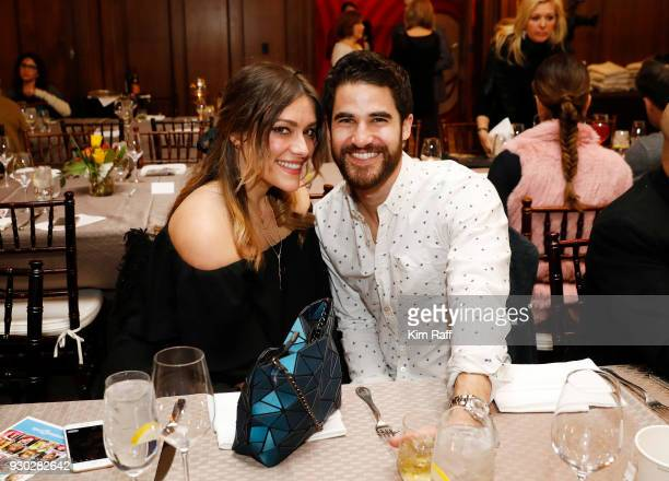 Mia Swier and Actor Darren Criss attend Operation Smile's 7th Annual Park City Ski Challenge Sponsored by The St Regis Deer Valley and Deer Valley...
