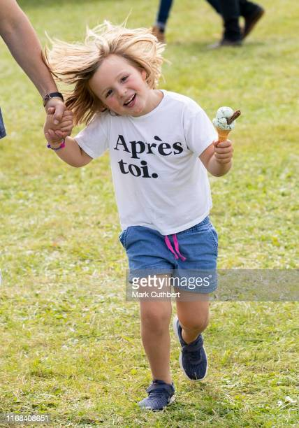 Mia Tindall at The Gatcombe Horse Trials at Gatcombe Park on September 15, 2019 in Stroud, England.