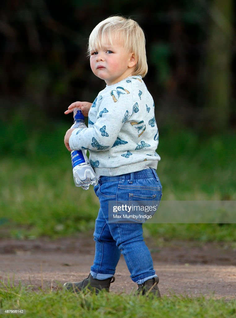 Mia Tindall attends day 2 of the Whatley Manor International Horse Trials at Gatcombe Park on September 12, 2015 in Stroud, England.