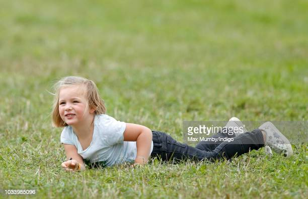 Mia Tindall attends day 3 of the Whatley Manor Horse Trials at Gatcombe Park on September 9 2018 in Stroud England