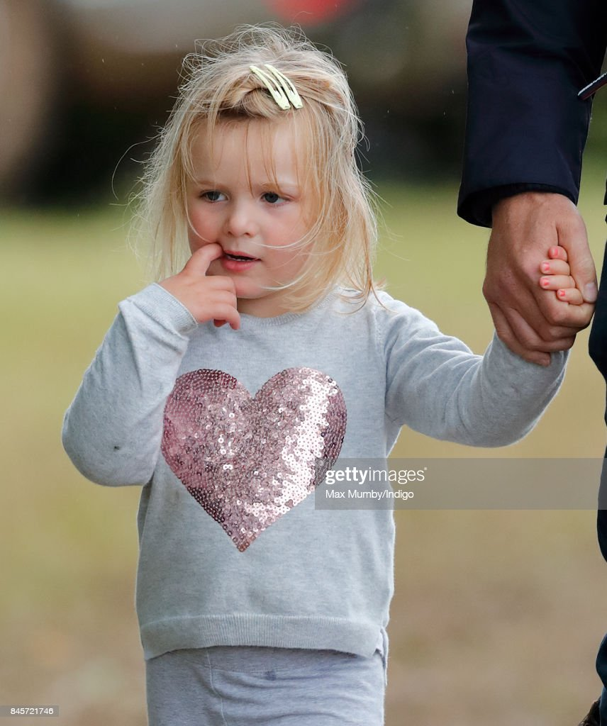 Mia Tindall attends day 3 of the Whatley Manor Horse Trials at Gatcombe Park on September 10, 2017 in Stroud, England.