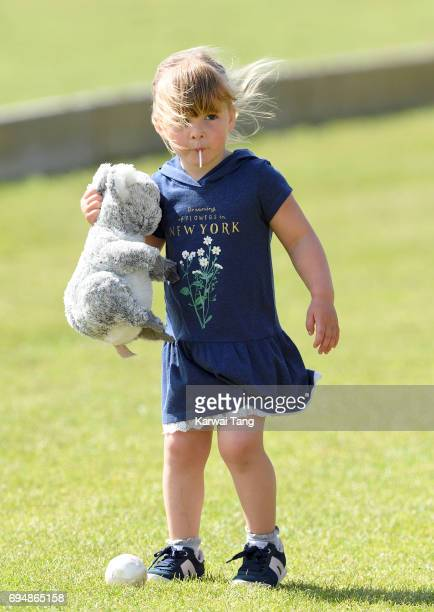Mia Tindall attends the Maserati Royal Charity Polo Trophy at Beaufort Polo Club on June 11 2017 in Tetbury England